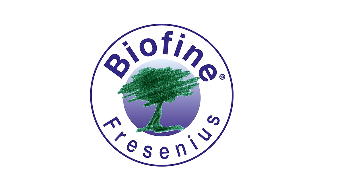 Fresenius Biofine® ve Nordic Ecolabel logosu